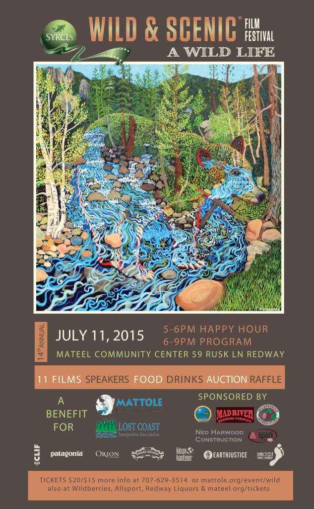 2015 Wild & Scenic Poster