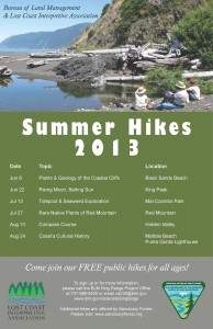 2013 Summer Hikes
