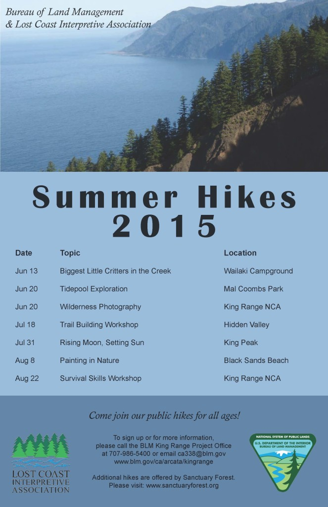 2015 Summer Hikes